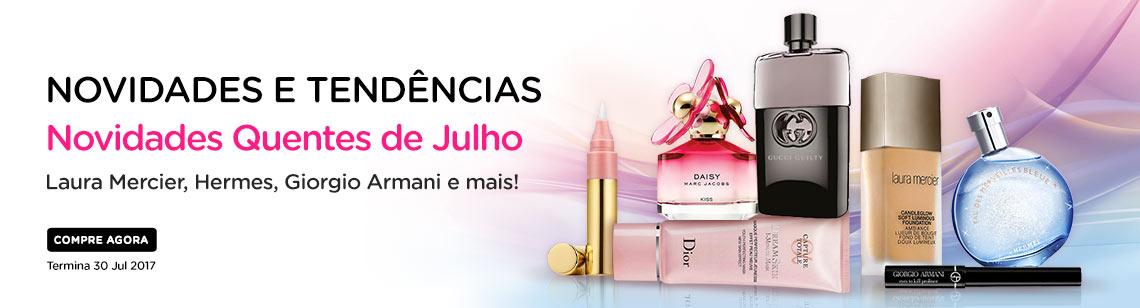 July new lines marc jacobs daisy gucci guilty laura mercier foundation hermes perfume giorgio armani eyeliner