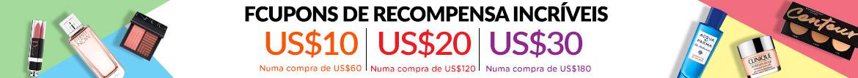 Bonus Shopping Rewards: Spend US$60 & Get a US$10 Coupon   Spend US$120 & Get a US$20 Coupon   Spend US$180 & Get a US$30 Coupon! Ends 23 Apr 2019