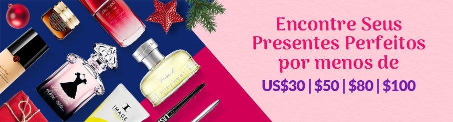 Compras de Festas! Presentes de Natal por menos de US$30 | US$50 | US$80 | US$100 Guia de Compras Ideia de presente 2019 para ele para ela