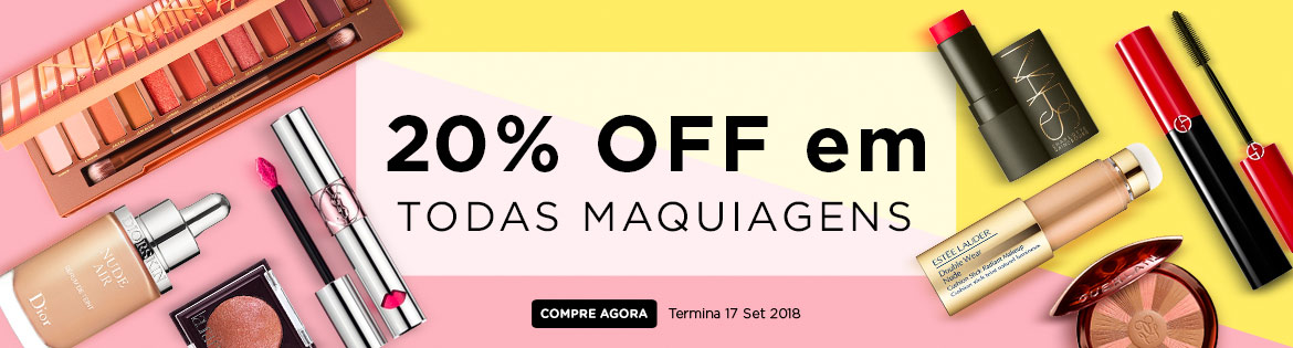 Massive Makeup Sale! Extra 20% Off ALL Makeup Ends 17 Sep 2018