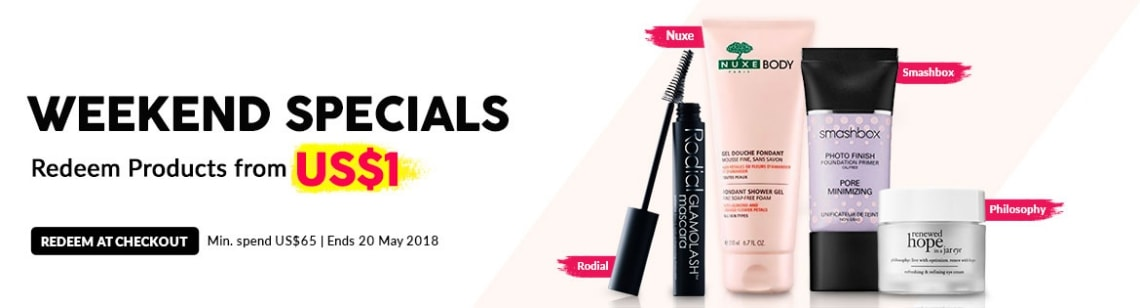 weekend Specials Maybelline Wen Nutraluxe Cargo Peter thomas Roth
