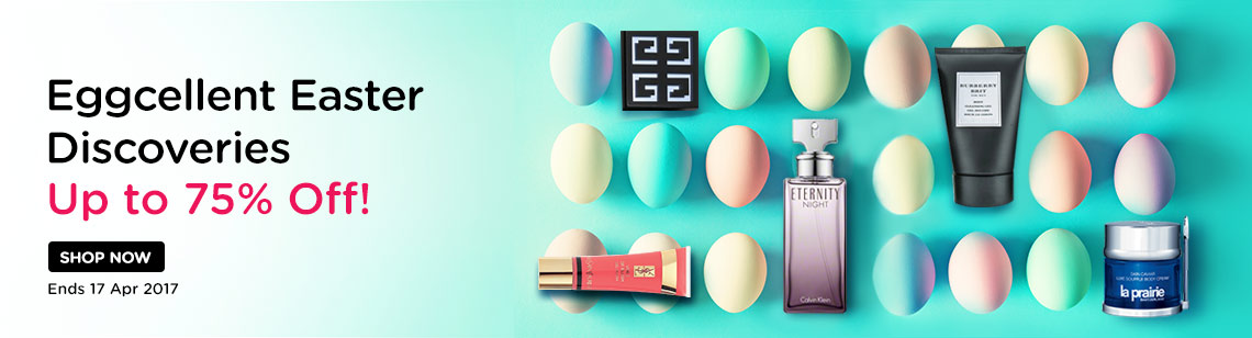 Eggcellent Easter Sale Up to 75% Off Amore Pacific, YSL, Gucci & more