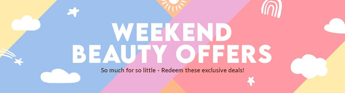 Weekend deals, redemption, US$1 deals, weekend shopping, shiseido, clarins, 3w clinic, clinique, fresh