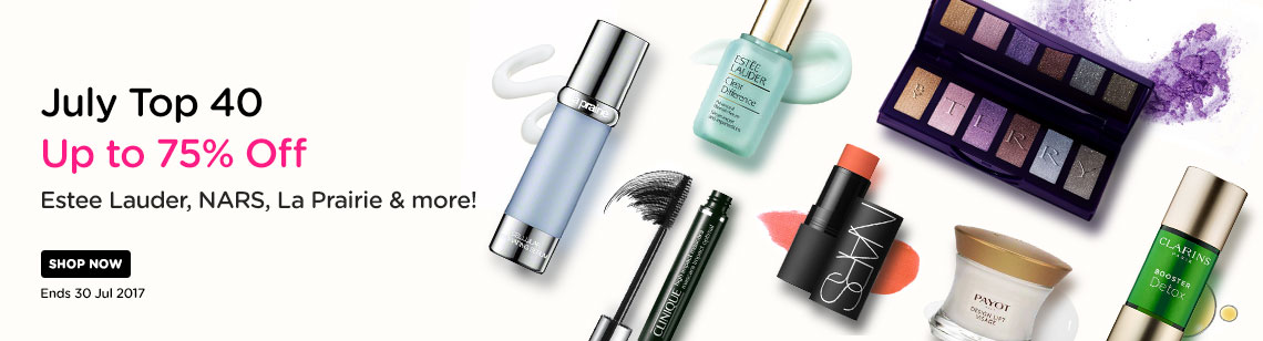 july top 40 la praire serum estee lauder clear difference serum nars the multiple clinique mascara payot lift clarins booster detox by terry shadow palette