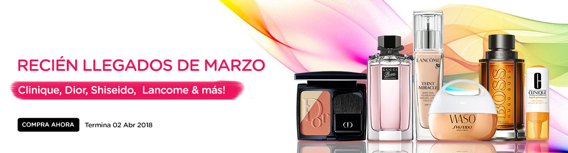 march new arrivals dior blush gucci flora lancome foundation waso shiseido hugo boss cologne clinique vitamin c