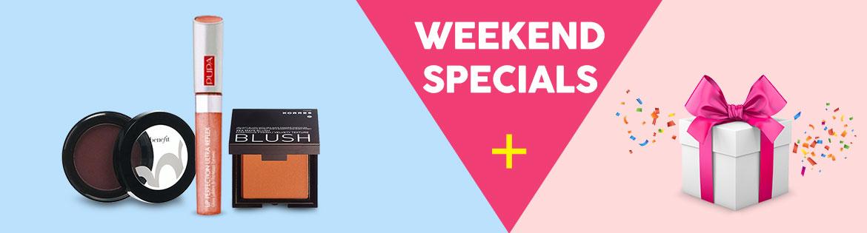 Weekend Specials Banner