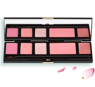 The Lip & Cheek Palette in Mauves