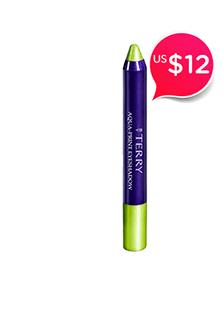 Aqua Print Eyeshadow<br />- # 4 Green Flzz