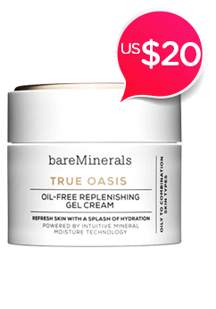 True Oasis Oil-Free Replenishing Gel<br />Cream - Oily To Combination Types