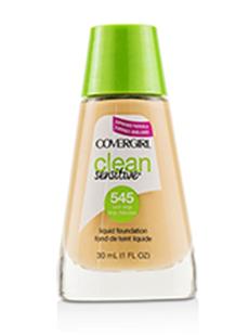 Covergirl Clean Sensitive Liquid Foundation # 545 Warm Beige