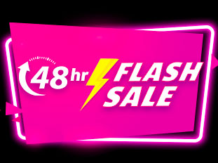 48-HR FLASH SALE