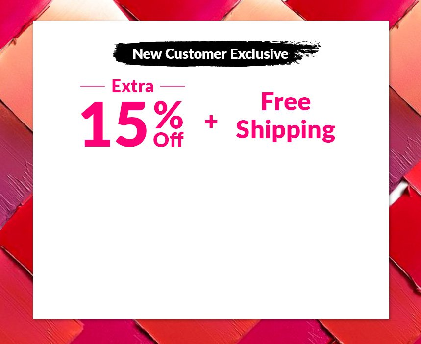 New Customer Exclusive Shop Beauty Sale Extra 15% Free Shipping bareminerals biotherm bvlgari calvin klein christian dior clarins clinique decleor dermalogica l'oreal l'occitane nars payot redken yves saint laurent makeup skincare perfume haircare
