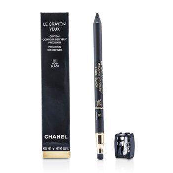 Chanel Viền Mắt  & Lông Mày -  Le Crayon Yeux # 01 Noir  1g/0.03oz