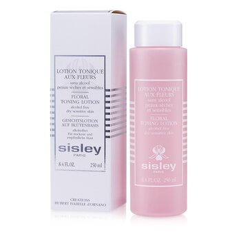 Botanical Floral Toning Lotion Alcohol-Free  250ml/8.4oz