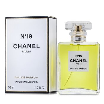 Chanel No.19 Eau De Parfum Spray-Cristal Vidro  50ml/1.7oz