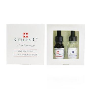 Advanced-C Serum 2 Step Starter Kit: Advanced-C Serum + Skin Hydration Complex  2x15ml/0.5oz