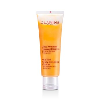 Clarins One Step suaveExfoliante Tônico de limpeza  125ml/4.2oz
