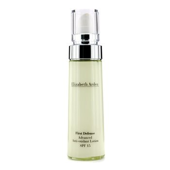 Elizabeth Arden First Defense Loción Avanzada Anti-Oxidante SPF 15  50ml/1.7oz