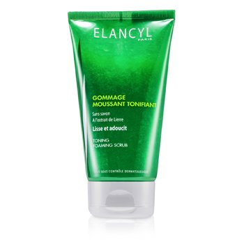 Galenic Elancyl Toning Schauming Exfoliant With Ivy Extract  150ml/5oz
