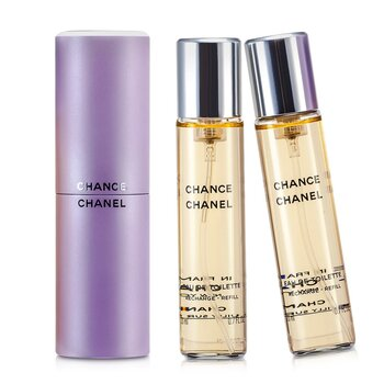 Chanel Chance Twist & Spray Eau De Toilette  3x20ml/0.7oz