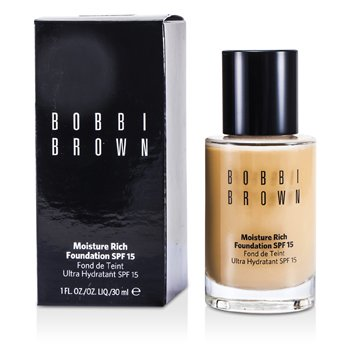 Bobbi Brown Moisture Rich Foundation SPF15 - #3 Beige  30ml/1oz