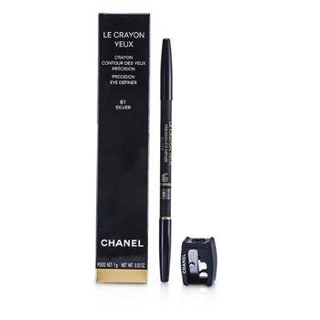 Chanel Le Crayon Yeux - nr 61 Silver  1g/0.03oz