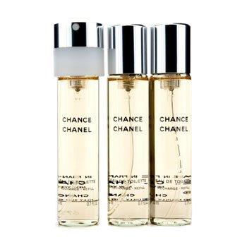 Chanel Chance Twist & Spray Eau De Toilette Refill  3x20ml/0.7oz