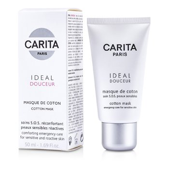 Carita Ideal Douceur Cotton Mask ( Piel Sensible )  50ml/1.69oz