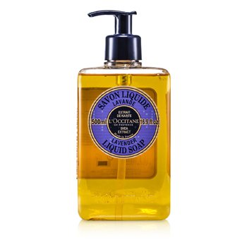 Shea Butter Liquid Soap - Lavender  500ml/16.9oz