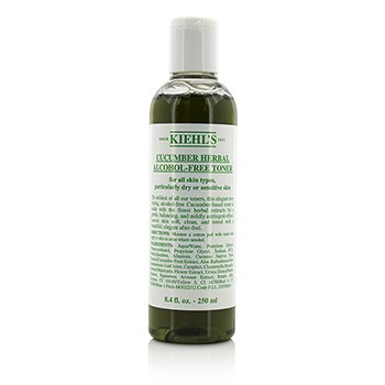 Cucumber Herbal Alcohol-Free Toner - For Dry or Sensitive Skin Types  250ml/8.4oz