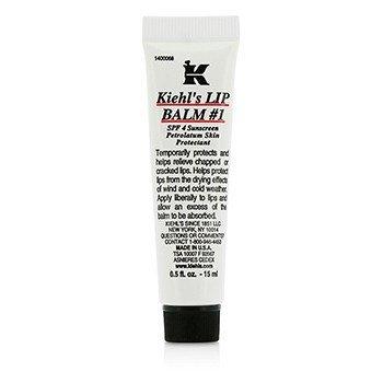 Kiehl's Balsem Bibir # 1 Tube ( SPF 4 Tabir Surya Petrolatum Perlindungan Bibir )  15ml/0.5oz