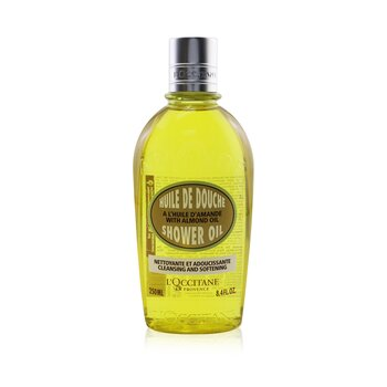 L'Occitane Almond Cleanser & Soothing Shower Oil ( Pembersih & Minyak Pengamankan Mandian Body (Badan) )  250ml/8.4oz