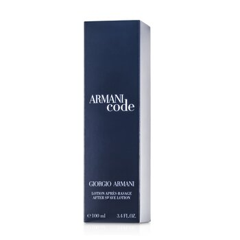 Armani Code After Shave Lotion  100ml/3.4oz