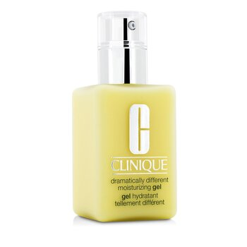 Clinique Dramatically Different Gel Pelembab - Kombinasi Berminyak ke Berminyak ( Dengan Pompa )  125ml/4.2oz