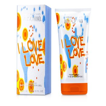 Moschino I Love Love Perfumado Gel de Ba�o y Ducha  200ml/6.7oz