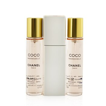 Coco Mademoiselle Twist & Spray Eau De Toilette 3x20ml/0.7oz