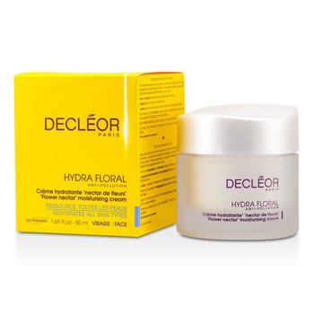 Decleor Nawilżający ochronny krem do twarzy Hydra Floral Anti-Pollution Flower Nectar Moisturising Cream  50ml/1.7oz