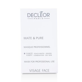 Mate & Pure Mask Vegetal Powder - Combination to Oily Skin (Salon Size)  10x5g