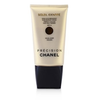 Samoopalacz do twarzy, do jasnej karnacji Precision Soleil Identite Perfect Colour Face Self Tanner SPF8 - Dore (Golden)  50ml/1.7oz