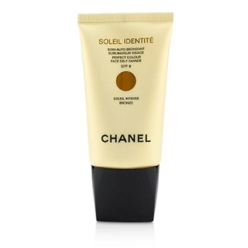 Chanel Precision Soleil Identite Perfect Colour Face Self Tanner/ Auto Bronceado SPF 8 - Intenso ( Bronce )  50ml/1.7oz