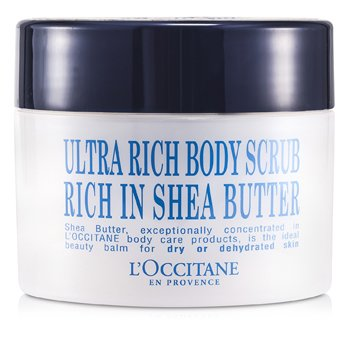 L'Occitane Shea Butter Ultra Rich Body Scrub  200ml/7oz