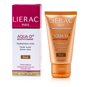 Lierac Aqua D+ Emulsi�n con Color Multivitaminada - Dore  40ml/1.46oz