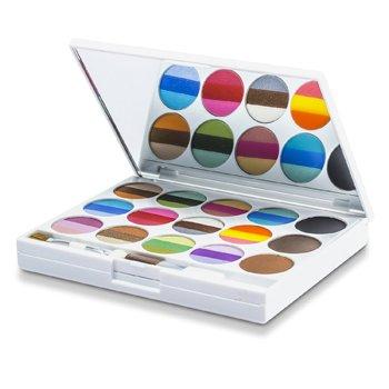 Kit de Maquiagem AZ 01205 ( 36 Cores de Sombra , 4x Blush, 3x Pó Para Sobrancelha , 2x Pó facial )  -