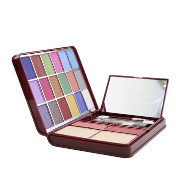 MakeUp Kit G0139 (18x Eyeshadow, 2x Blusher, 2x Pressed Powder, 4x Lipgloss)  -