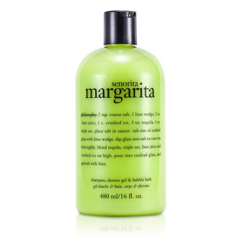 Senorita Margarita Shampoo, Bath & Shower Gel  473.1ml/16oz