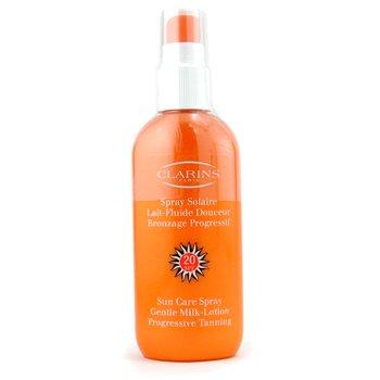 Clarins Sun Care Spray Gentle Milk Lotion Progressive Tanning SPF 20  150ml/5.3oz