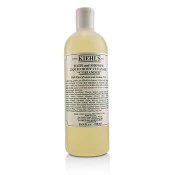 Kiehl's Bath & Shower Liquid Pembersih Tubuh - Coriander  500ml/16.9oz