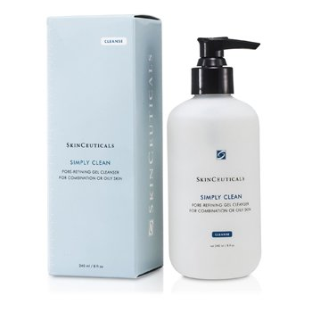 Skin Ceuticals Simply Clean Pore Refining Gel Cleanser (For Combination/ Oily Skin)  240ml/8oz
