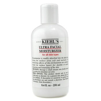 Ultra Facial Moisturizer - For All Skin Types  250ml/8.4oz
