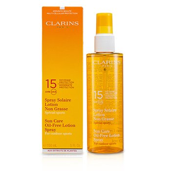 Sun Care Spray Oil-Free Lotion Progressive Tanning SPF 15 (For Outdoor Sports)  150ml/5.1oz